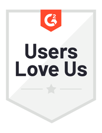G2 Users Love Us