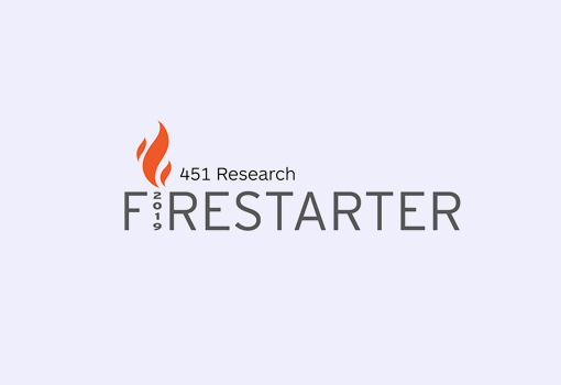 451 Research Firestarter 2019
