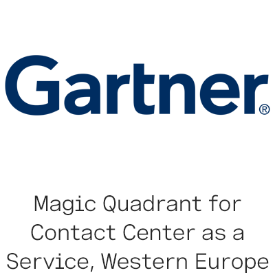 Gartner Magic Quadrant for Contact Center logo