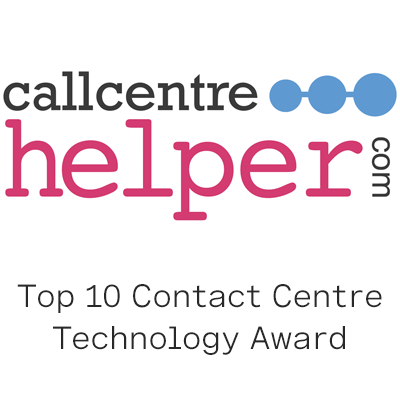 Top 10 Contact Centre Technology Award logo