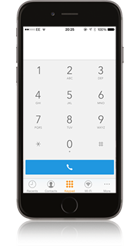 Vonage Extensions® Dialler
